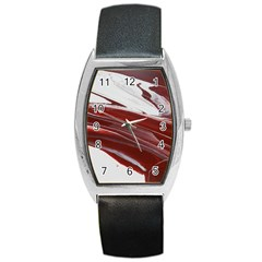 Ruby Pillars Barrel Style Metal Watch by WILLBIRDWELL