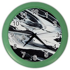 Space Drift 2 Color Wall Clock by WILLBIRDWELL