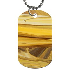 Sand Man Dog Tag (two Sides) by WILLBIRDWELL