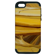 Sand Man Apple Iphone 5 Hardshell Case (pc+silicone) by WILLBIRDWELL