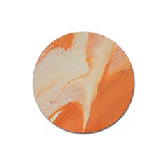 Fire Fall Magnet 3  (round) by WILLBIRDWELL