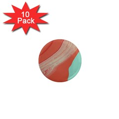 Clay And Water 1  Mini Magnet (10 Pack)