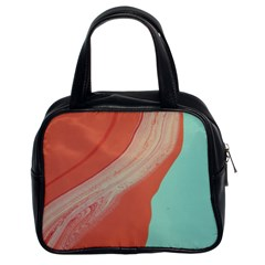 Clay And Water Classic Handbag (two Sides)