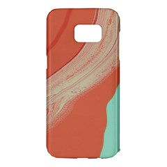 Clay And Water Samsung Galaxy S7 Edge Hardshell Case