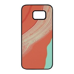Clay And Water Samsung Galaxy S7 Edge Black Seamless Case