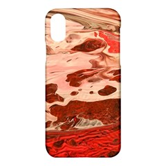 Acid Rain Apple Iphone X Hardshell Case by WILLBIRDWELL