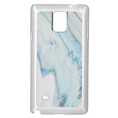 Diamond Mountain Samsung Galaxy Note 4 Case (white) by WILLBIRDWELL