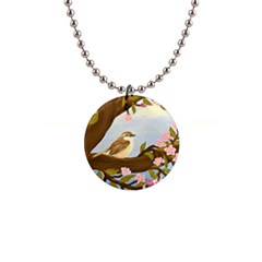 The Wren Button Necklaces
