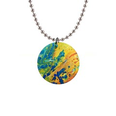 Sun Fire Button Necklaces