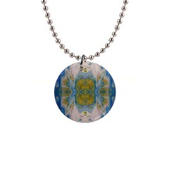 Cosmic Waters Repeat Tile Button Necklaces