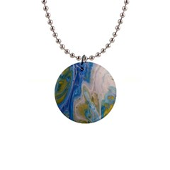 Cosmic Waters Button Necklaces