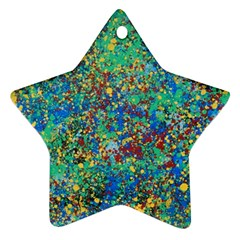 Edge Of The Universe Star Ornament (two Sides) by WILLBIRDWELL