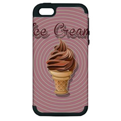 Pop Art Ice Cream Apple Iphone 5 Hardshell Case (pc+silicone) by Valentinaart