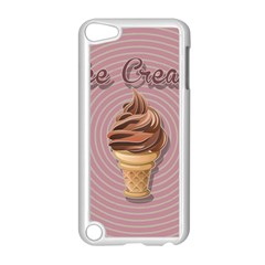 Pop Art Ice Cream Apple Ipod Touch 5 Case (white) by Valentinaart