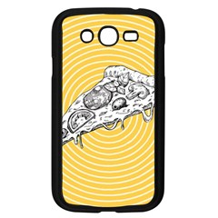 Pop Art Pizza Samsung Galaxy Grand Duos I9082 Case (black)