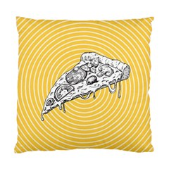 Pop Art Pizza Standard Cushion Case (one Side) by Valentinaart
