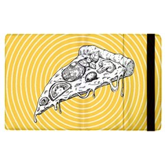 Pop Art Pizza Apple Ipad Pro 9 7   Flip Case by Valentinaart
