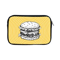 Pop Art Hamburger  Apple Ipad Mini Zipper Cases by Valentinaart