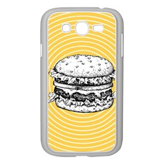 Pop Art Hamburger  Samsung Galaxy Grand Duos I9082 Case (white) by Valentinaart