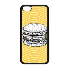 Pop Art Hamburger  Apple Iphone 5c Seamless Case (black)