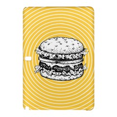 Pop Art Hamburger  Samsung Galaxy Tab Pro 12 2 Hardshell Case