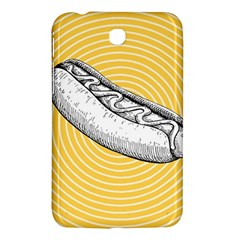 Pop Art Hot Dog Samsung Galaxy Tab 3 (7 ) P3200 Hardshell Case  by Valentinaart