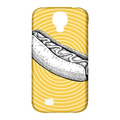 Pop Art Hot Dog Samsung Galaxy S4 Classic Hardshell Case (pc+silicone) by Valentinaart