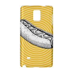 Pop Art Hot Dog Samsung Galaxy Note 4 Hardshell Case