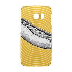 Pop Art Hot Dog Samsung Galaxy S6 Edge Hardshell Case