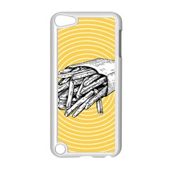 Pop Art French Fries Apple Ipod Touch 5 Case (white) by Valentinaart
