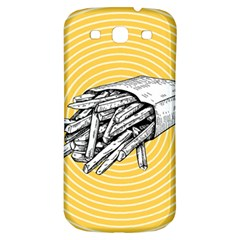 Pop Art French Fries Samsung Galaxy S3 S Iii Classic Hardshell Back Case