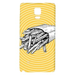 Pop Art French Fries Samsung Note 4 Hardshell Back Case