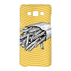 Pop Art French Fries Samsung Galaxy A5 Hardshell Case