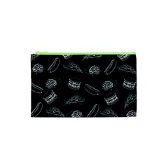 Fast Food Pattern Cosmetic Bag (xs)