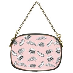 Fast Food Pattern Chain Purse (one Side)