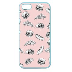 Fast Food Pattern Apple Seamless Iphone 5 Case (color)