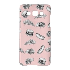 Fast Food Pattern Samsung Galaxy A5 Hardshell Case