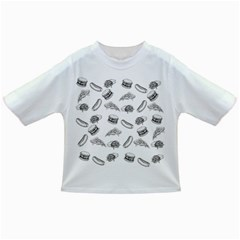 Fast Food Pattern Infant/toddler T Shirts