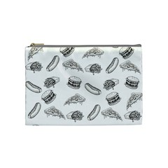 Fast Food Pattern Cosmetic Bag (medium)