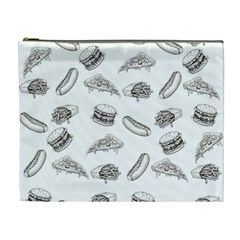 Fast Food Pattern Cosmetic Bag (xl)