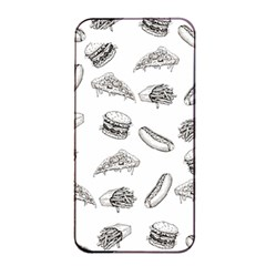 Fast Food Pattern Apple Iphone 4/4s Seamless Case (black)