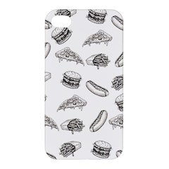 Fast Food Pattern Apple Iphone 4/4s Hardshell Case