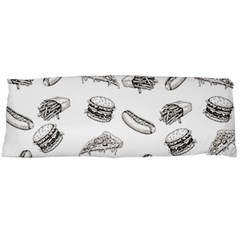 Fast Food Pattern Body Pillow Case (dakimakura)