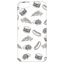 Fast Food Pattern Apple Iphone 5 Classic Hardshell Case