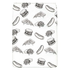 Fast Food Pattern Removable Flap Cover (s)