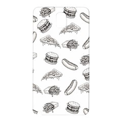Fast Food Pattern Samsung Galaxy Note 3 N9005 Hardshell Back Case