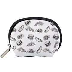 Fast Food Pattern Accessory Pouch (small)