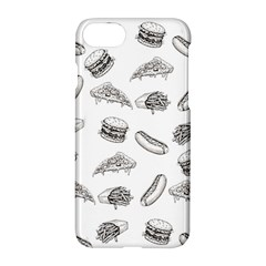 Fast Food Pattern Apple Iphone 7 Hardshell Case