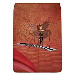 Cute Fairy Dancing On A Piano Removable Flap Cover (s) by FantasyWorld7