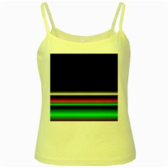 Colorful Neon Background Images Yellow Spaghetti Tank